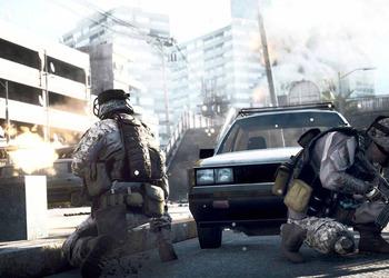 Снимок экрана из видео Battlefield 3