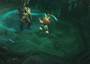 Снимок экрана Диабло III