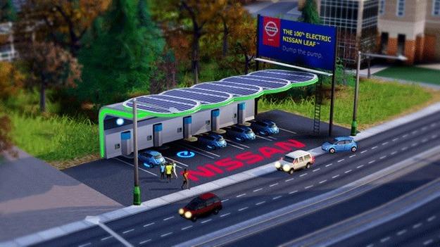 ЕА предлагает благодетельствовать граждан SimCity свободной автозаправочной установкой