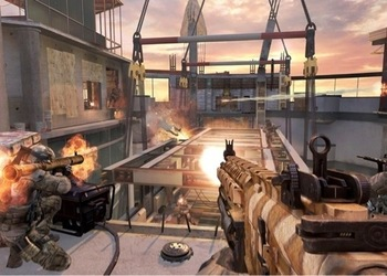 Снимок экрана Call of Duty: Modern Warfare 3