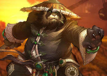 Концепт-арт WoW: Mists of Pandaria
