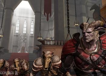Снимок экрана Dragon Age 2