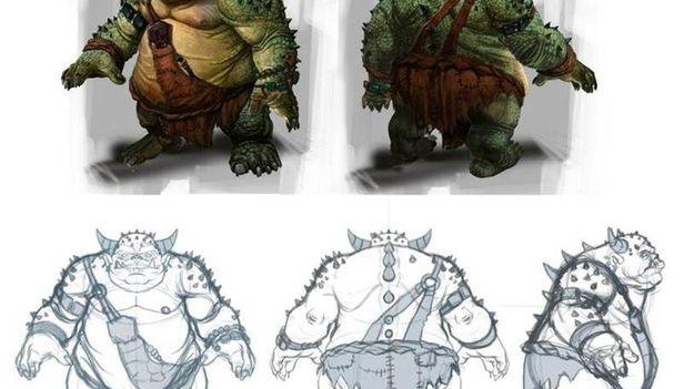 Создатели игры The Elder Scrolls: On-line продемонстрировали чудища Огрима