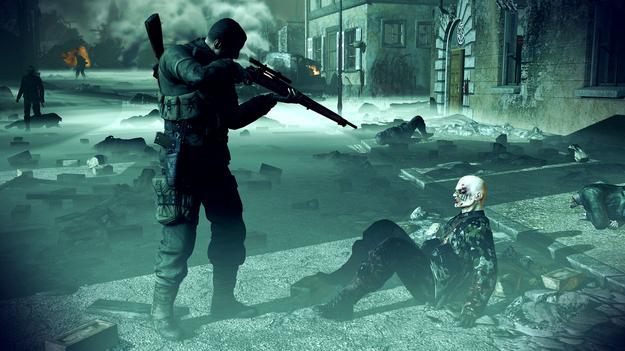 В игре Sniper Elite V2 будут зомби