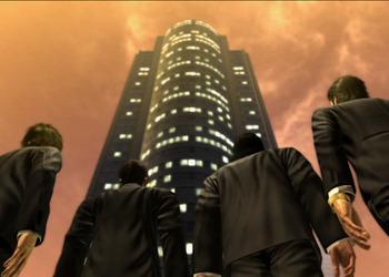 Снимок экрана Yakuza 4