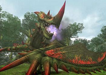 Снимок экрана Monster Хантер Frontier