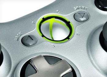 Кусок фото контроллера Xbox 360