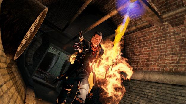 Размещены свежие снимки экрана к игре NeverDead