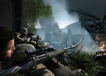 Снимок экрана Sniper: Густ Warrior 2