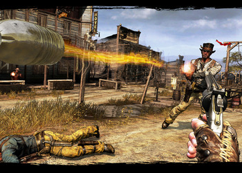Снимок экрана Call of Juarez: Gunslinger