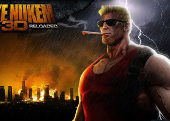 Концепт-арт Duke Nukem 3D: Reloaded