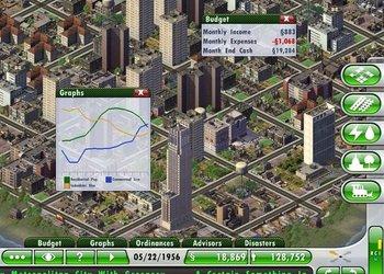 Снимок экрана SimCity Deluxe