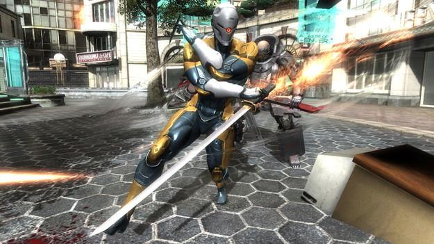 Konami выпустит бесплатное добавление к игре Metal Gear Rising: Revengeance