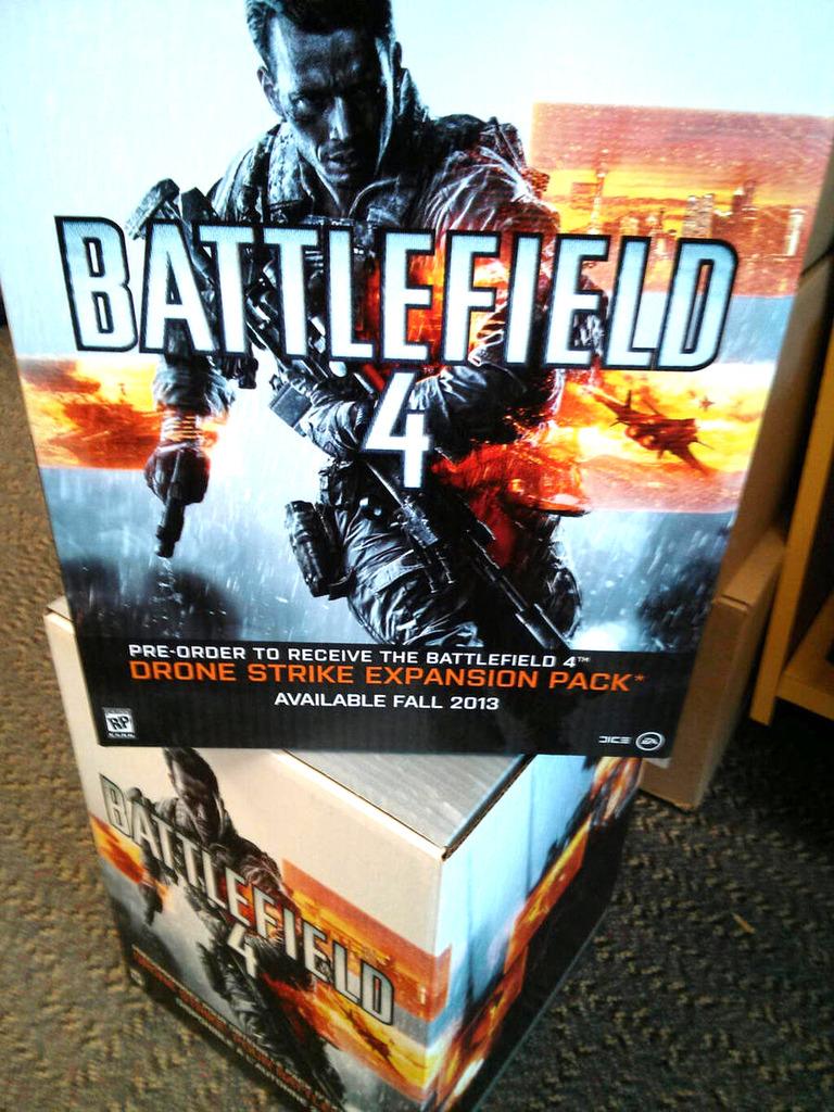 1-ое добавление к игре Battlefield 4 могло выйти под наименованием Drone Strike