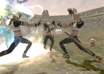 Снимок экрана Final Fantasy XI