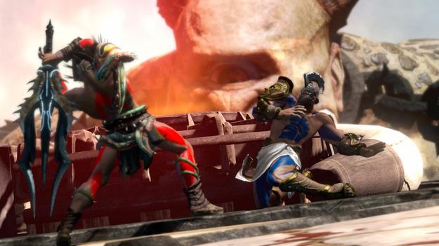 Создатели сообщили о процессе образования мультиплеера в игре God of War: Ascension