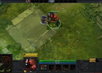 Снимок экрана DOTA 2