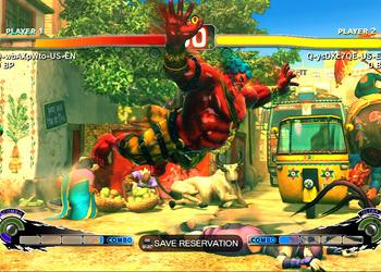 Снимок экрана Стрит Fighter IV