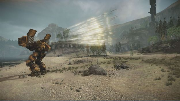 Создатели игры MechWarrior On-line показали нового меха