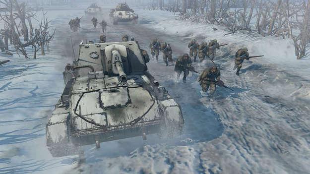 Создатели Company of Heroes 2 планируют сделать зиму значительным объектом конкурсной игры