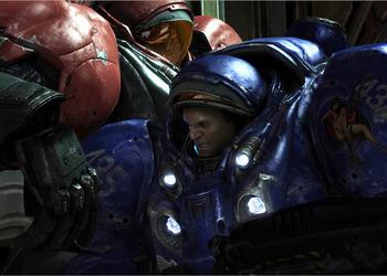Снимок экрана StarCraft II