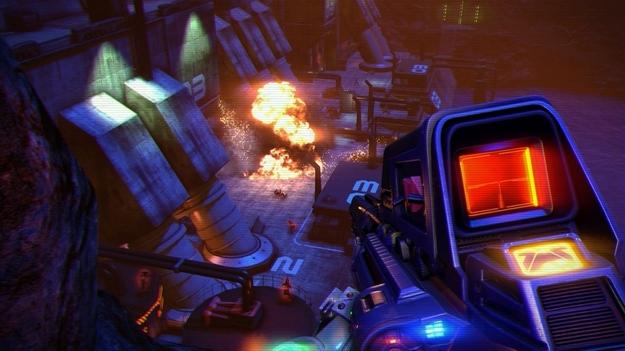 В интернет проникли первые снимки экрана игры Far Cry 3: Blood Dragon