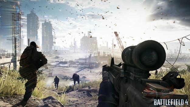 AMD будет предоставлять свежие карты памяти совместно с игрой Battlefield 4