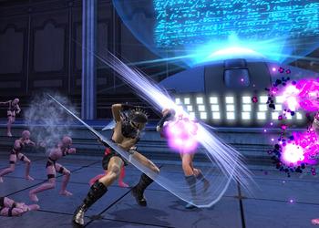 Снимок экрана DC Universe On-line