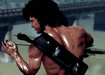 Снимок экрана Rambo: The Video game