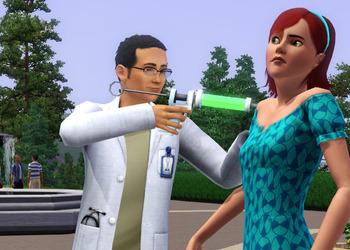 Снимок экрана The Sims 3