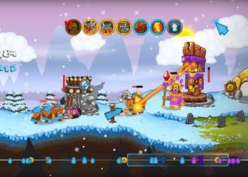 Снимок экрана Swords and Soldiers