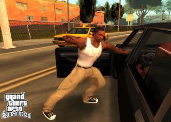 Снимок экрана GTA:San Andreas
