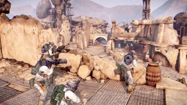 Неанонсированную игру Star Was: First Assault может познать линия Star Wars 1313