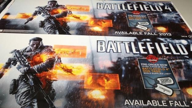 Пресс релиз игры Battlefield 4 назначен на осень 2013 года