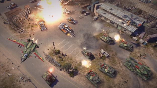 Создатели Command & Conquer поделились проектами на формирование игры