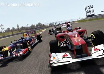 Снимок экрана F1 2012