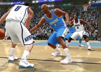 Снимок экрана NBA Live 10
