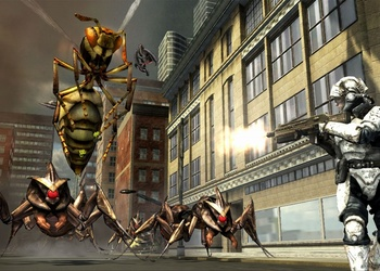 Снимок экрана Earth Defense Force: Insect Armageddon