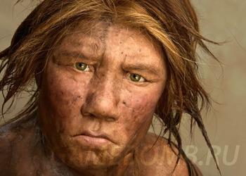 Картинка неандертальца
