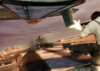 Снимок экрана Uncharted 3: Drake'с Deception