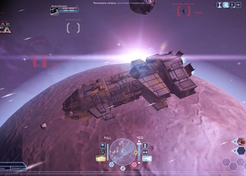 Снимок экрана Battlestar Galactica On-line