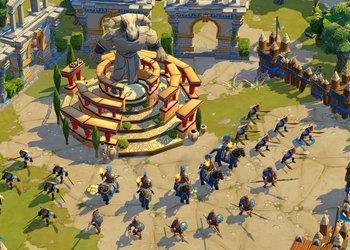 Снимок экрана Age of Empires On-line