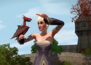 Снимок экрана The Sims 3: Dragon Valley