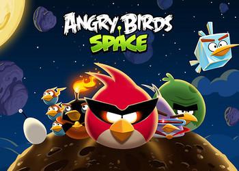 Снимок экрана Angry Birds Space