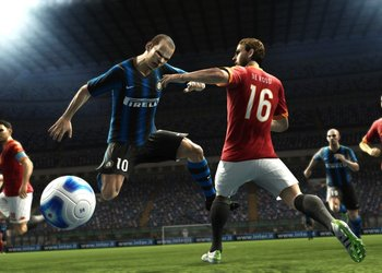 Снимок экрана Pro Evolution Soccer 2012