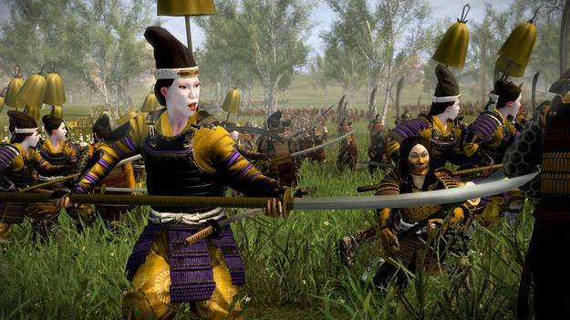 В интернете Steam вышло свежее добавление к игре Total War: Shogun 2