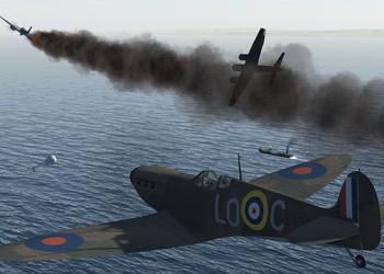 Снимок экрана Ил-2 Штурмовик: Схватка за Великобританию
