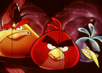 Снимок экрана Angry Birds