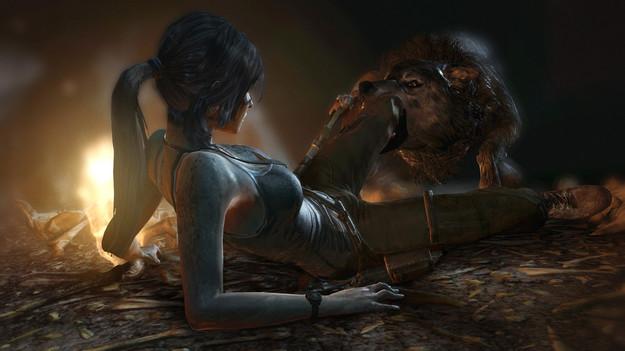 Создатели Tomb Raider сделали игрокам встречу с бесами