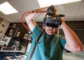 Фото макета Virtual Reality